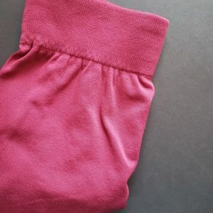 Inso Maternity Red Fleece Lined Leggings OS
